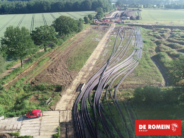 Construction of underground section of new 380 kV connection from Wilhelmshaven to Conneforde